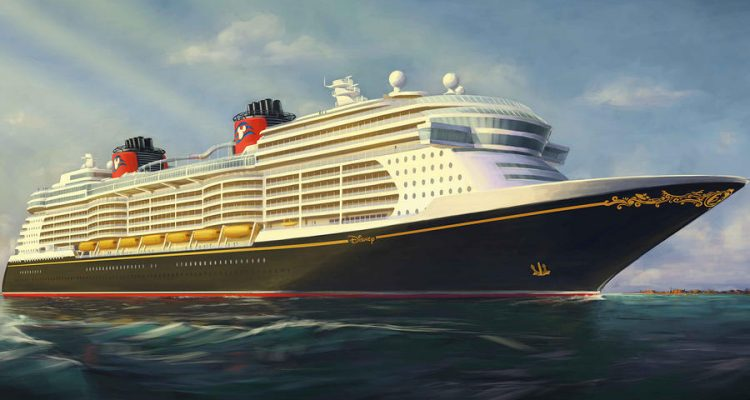 Disney Cruise Line new ship rendering