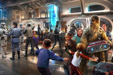 Concept art of Star Wars Galactic Starcruiser (Disney)