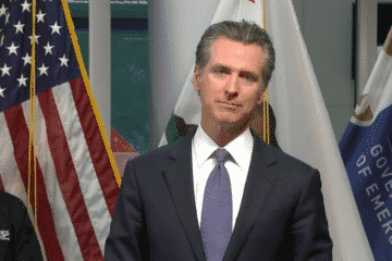 Gavin Newsom on theme parks