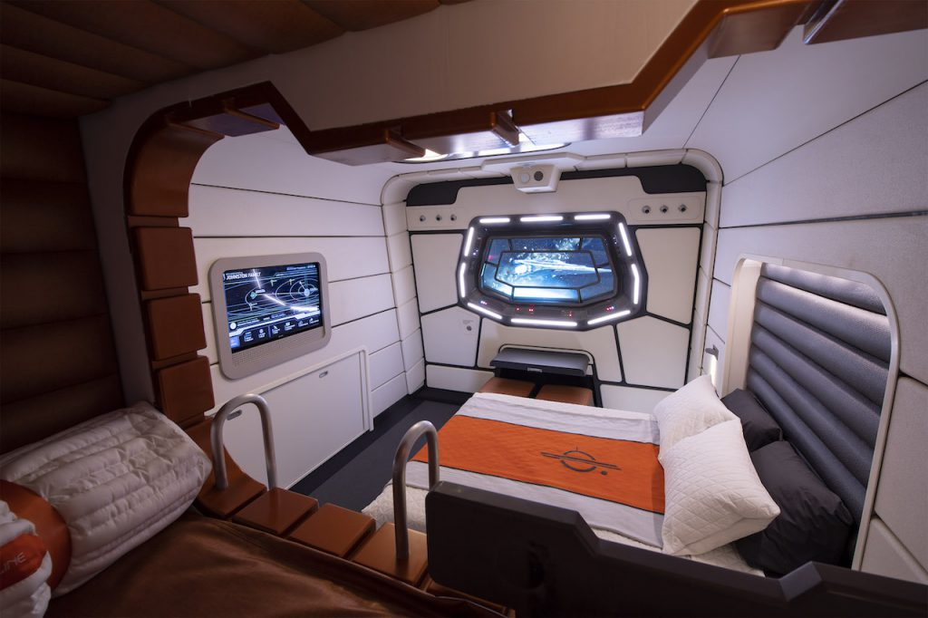 Star Wars Galactic Starcrusier room