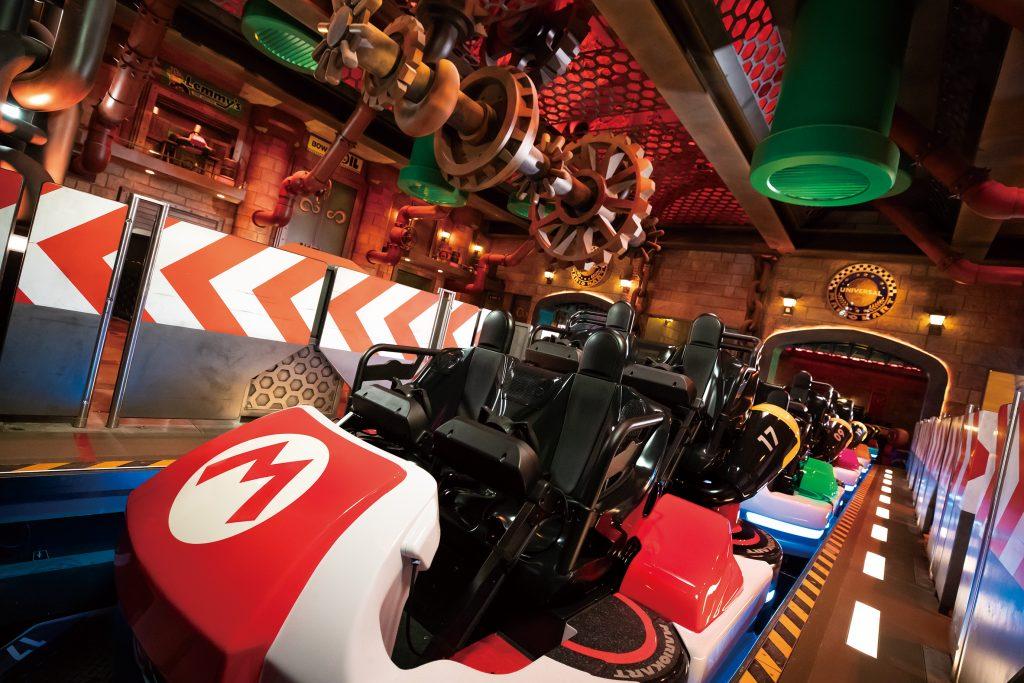 Mario Kart ride vehicles at Universal Studios Japan (Universal)