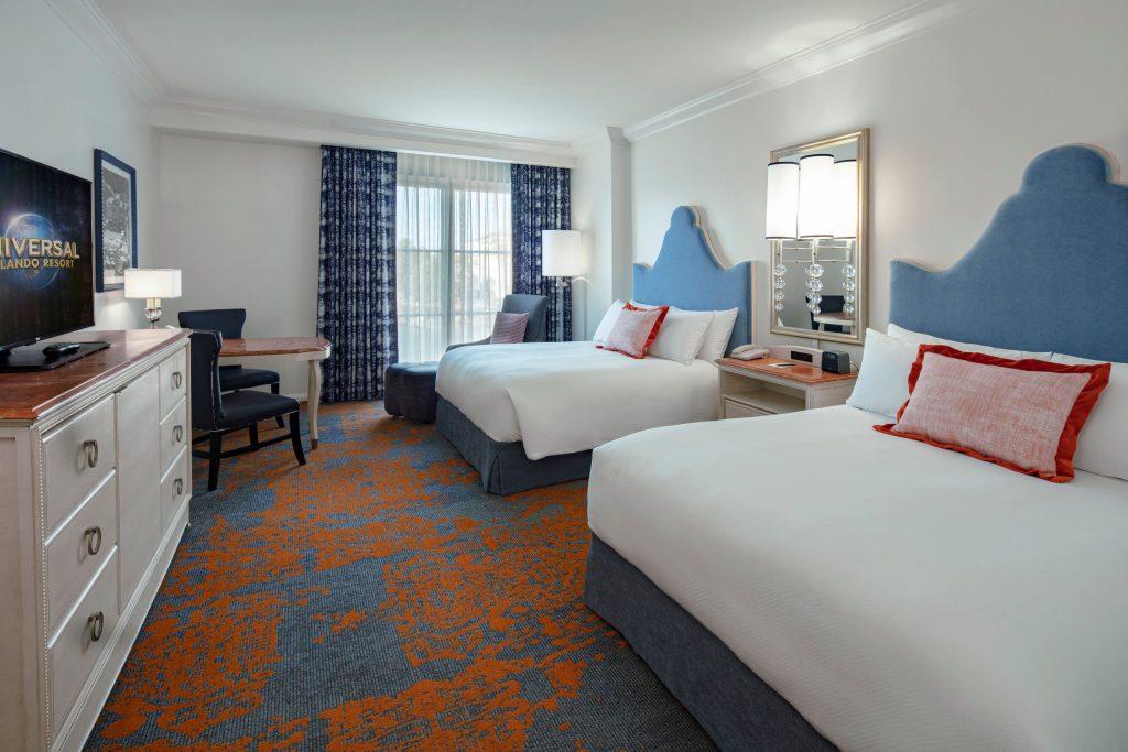New Portofino Bay rooms Universal Orlando