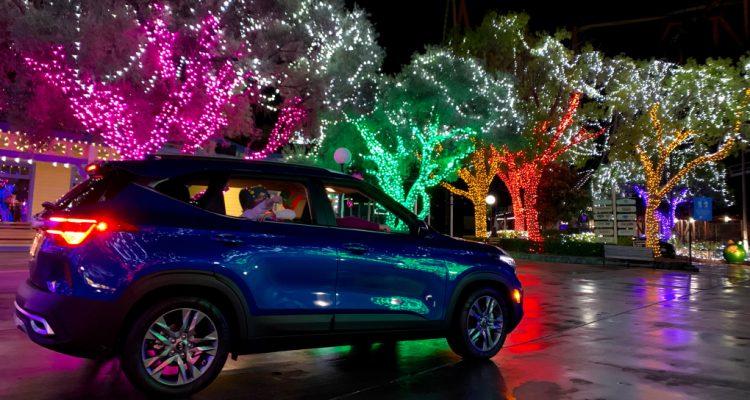 Six Flags Magic Mountain drive-thru
