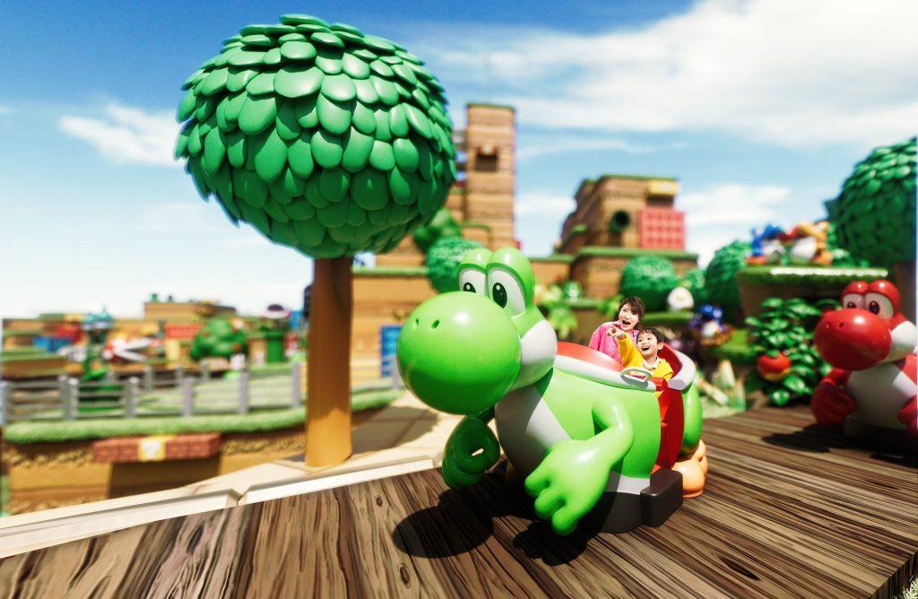 Yoshi's Adventure rendering (Universal)