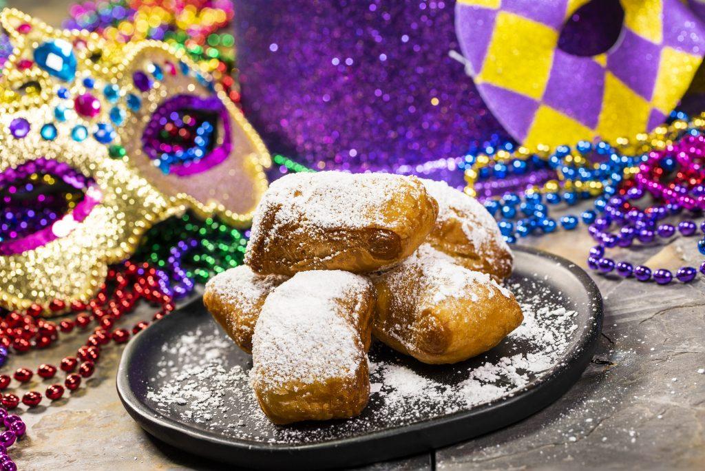 Mardi Gras beignets (Busch Gardens Tampa Bay)