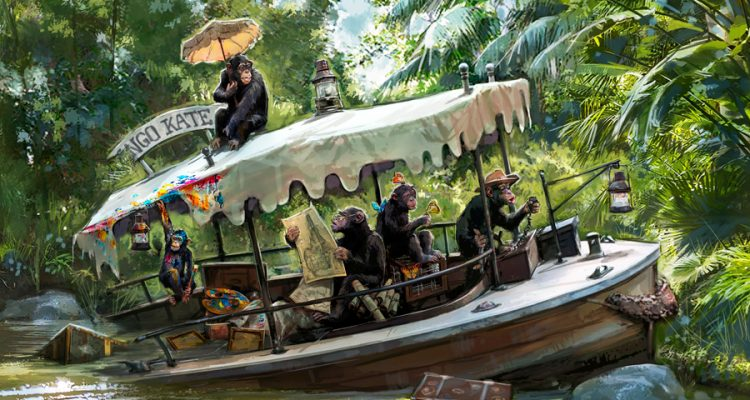 Jungle Cruise update concept art 2