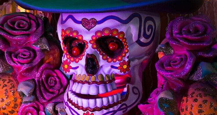 Universal Mardi Gras skull
