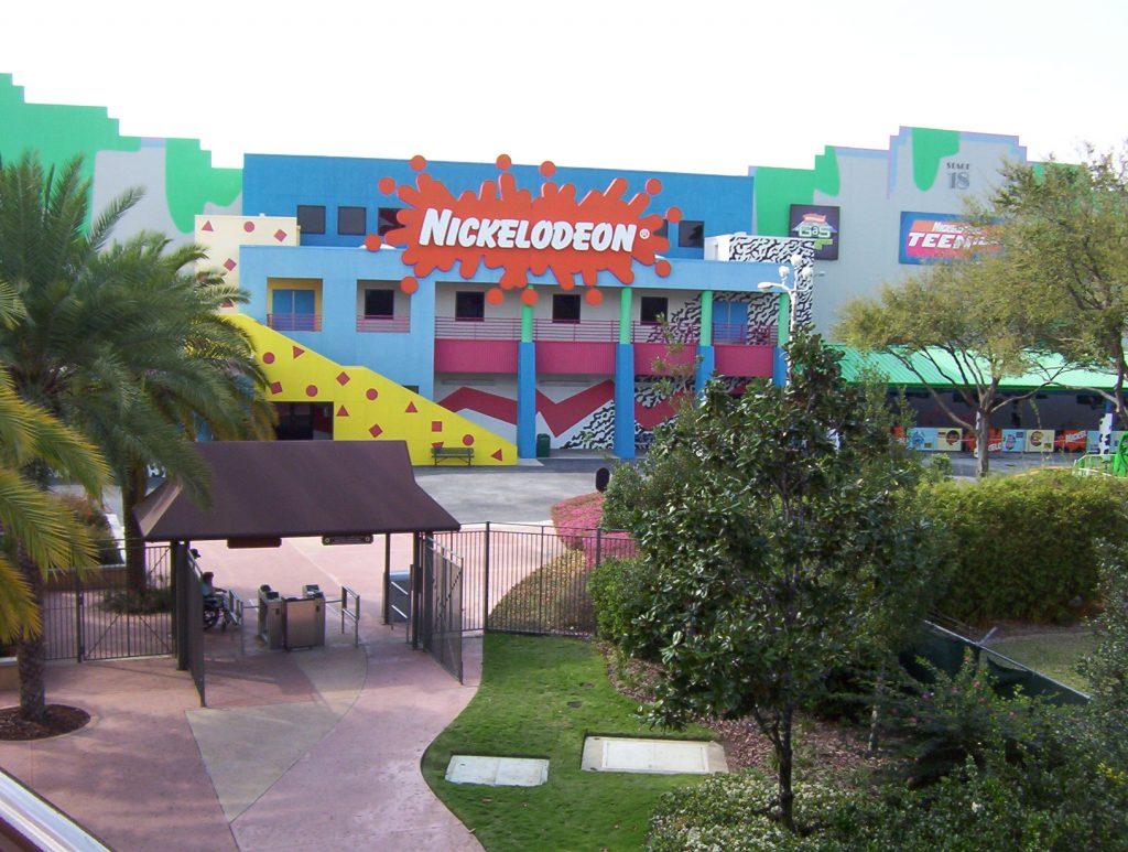 Nickelodeon Studios at Universal Orlando in 2004 (Wikimedia Commons)